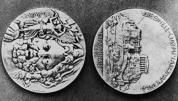 Medalla de los primeros Juegos Olímpicos Modernos fue subastada