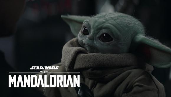 """Baby Yoda en la escena final del capítulo 16 de """"The Mandalorian"""". (Foto: Disney+)"""