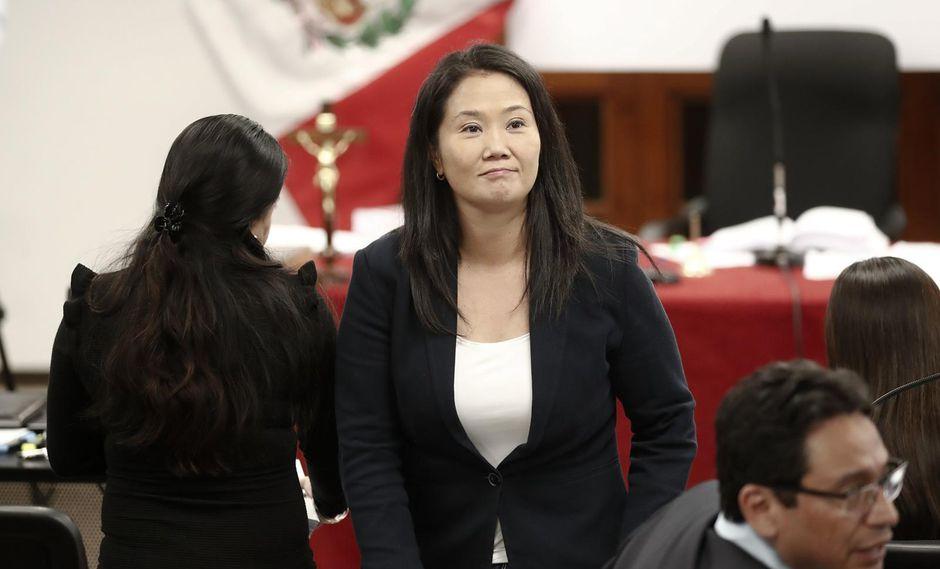 Keiko Fujimori lleva ocho meses cumpliendo una orden de prisión preventiva. (Foto: GEC)