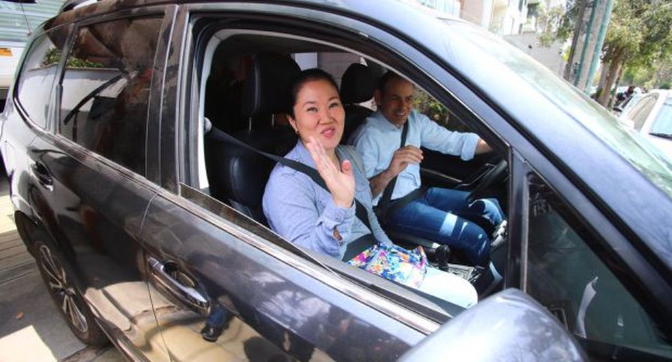 Keiko Fujimori visitó por primera vez a su padre Alberto Fujimori tras dejar el Penal Anexo de Mujeres en Chorrillos el pasado viernes. (Foto:  GEC)