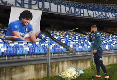 Con amor y respeto, al 'Pibe de Oro': Lorenzo Insigne rindió emotivo homenaje a Diego Armando Maradona en San Paolo | VIDEO