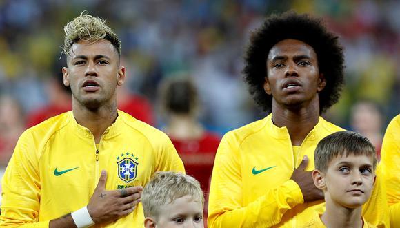 Willian ocupará el lugar de Neymar en Brasil de cara a la Copa América. (Foto: Reuters)