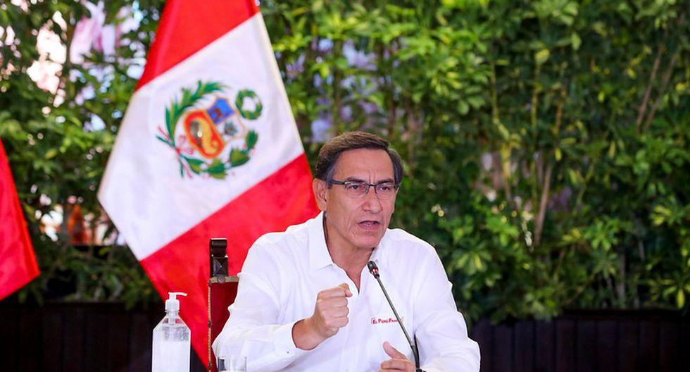 Martín Vizcarra extendió la inmovilización social desde las 6 p.m. hasta las 5 a.m. en Lima y otras regiones por casos de coronavirus. (Foto: Presidencia)