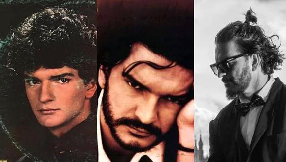 """De izquierda a derecha, los álbumes de Ricardo Arjona """"Déjame Decir Que Te Amo"""" (1985), """"Historias"""" (1994) y """"Blanco"""" (2020). Fuente: PolyGram/ Sony Music/ Metamorfosis."""