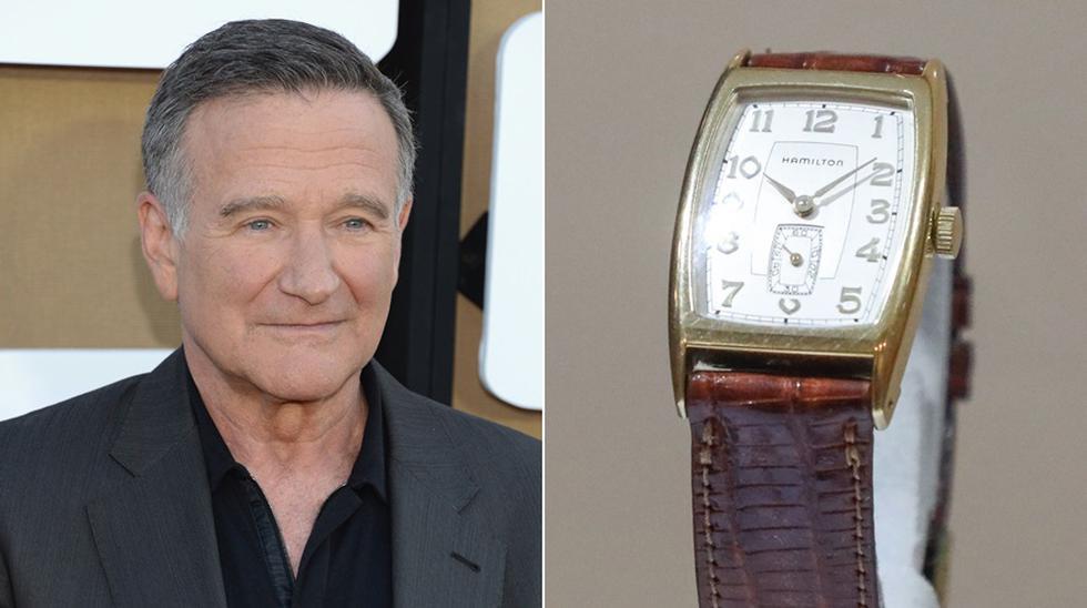 """El reloj que el actor estadounidense Robin Williams usó en la película """"La Sociedad de los Poetas Muertos"""" fue subastado en Los Ángeles. (Foto: Agencias)"""
