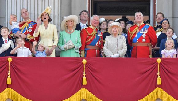 La familia real británica en una imagen del 8 de junio del 2019. (Foto: Daniel LEAL-OLIVAS / AFP).