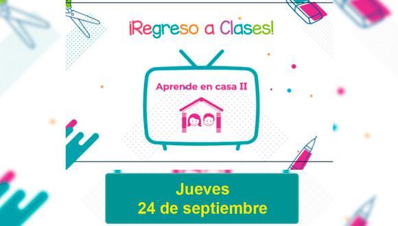 Todo lo que debes saber sobre el dictado de clases de la Semana 5 correspondiente al jueves 24 de septiembre (Foto: SEP / EC)