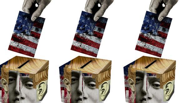 Lee la columna de Ignazio de Ferrari sobre Donald Trump y las Elecciones 2020 en Estados Unidos. (Ilustración: Giovanni Tazza)