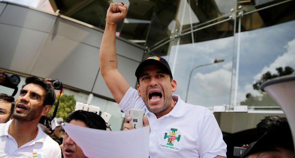 Luis Fernando Camacho, un líder cívico de Santa Cruz, se mostró dispuesto este martes a ser el candidato opositor en las nuevas elecciones presidenciales que se dispone a celebrar Bolivia para superar la crisis política desatada tras los comicios del 20 de octubre. (Foto: Archivo/AFP).