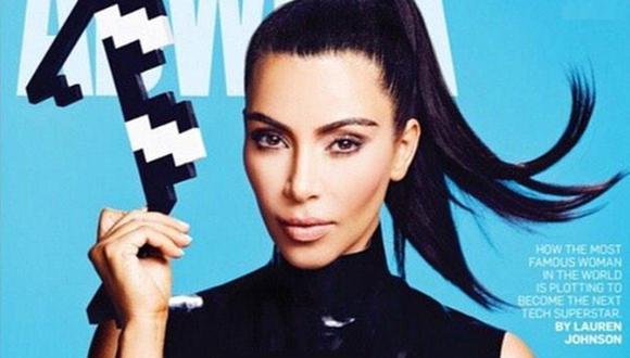 Twitter: Kim Kardashian como nunca la viste... sin maquillaje
