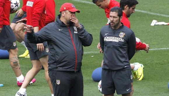 Germán Burgos dio una advertencia al Atlético de Madrid sobre la jerarquía de Real Madrid. (Foto: EFE)