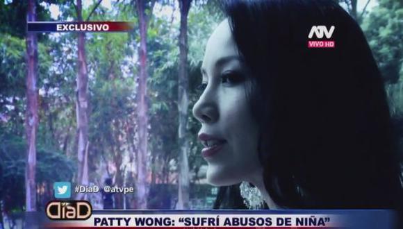 Patty Wong fue víctima de abuso sexual en su infancia